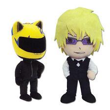 Sale! Set of 2 - Celty Sturluson & Shizuo Heiwajima Plush - DURARARA!! Toy Doll