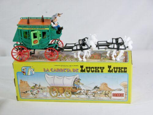 Diligence Wells Fargo Comansi Lucky Luke 1985 Neuve boite