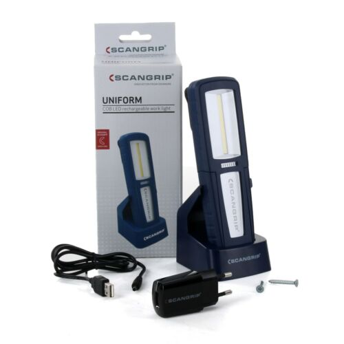 SCANGRIP UNIFORM 03.5407 LED Werkstattlampe Arbeitslampe Handlampe Taschenlampe