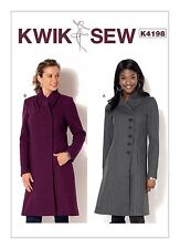 Kwik Sew SEWING PATTERN K4198 Misses Coats XS-XL
