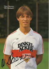 Nico Claesen    VFB Stuttgart  1984/85  Autogrammkarte m.U. - 212145 - OK
