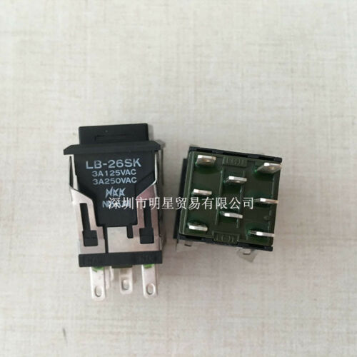 1pcs New NKK button switch LB-26SK
