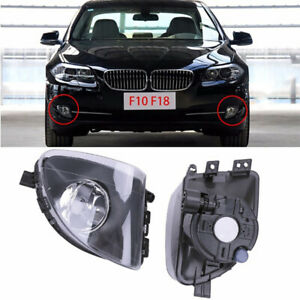 PAIR-Front-Fog-Light-Lamps-For-BMW-5-Series-F10-F11-535i-550i-528i-2009-2015-CAO