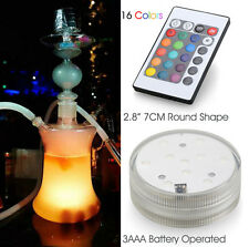 1 x hookah shisha accessories battery operated led light with remote