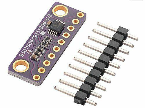 New 12 Bit I2C 4 CH ADS1115//ADS1015 Module ADC Development Board for Arduino