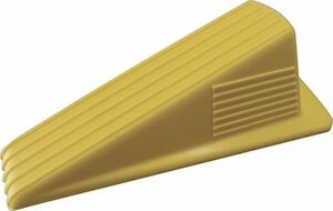 Shepherd Hardware 3763 Heavy Duty Jumbo Rubber Door Wedge, Yellow