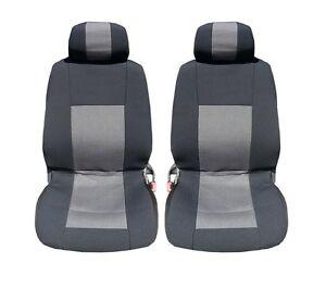 2 Lux Sitzbezüge Schonbezüge Auflagen Auto Sitzauflage schwarz Universal