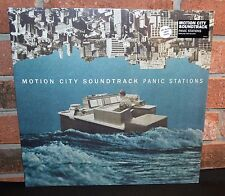 MOTION CITY SOUNDTRACK - Panic Stations, Limited BLUE/WHITE VINYL + Download NEW