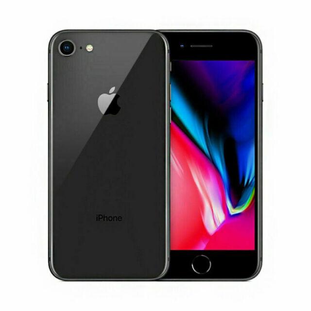 Apple iPhone 8 64Go Gris A1905 GSM SIM Smartphone Unlocked 1Yr Warranty