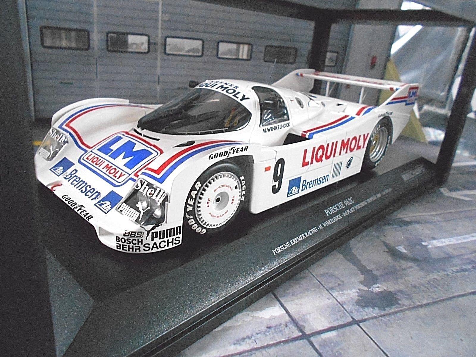 Porsche 962 956 II DRM Kremer Norisring 9 WINKELHOCK Liqui Moly MINICHAMPS 1:18 | Technologies De Pointe