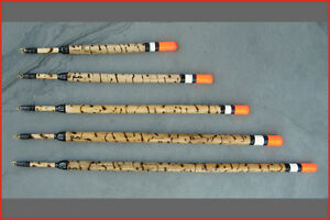 Handmade fishing floats. Scorched norfolk reed waggler. Carp/crappie) (Hotrod)