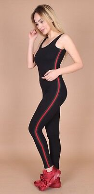 Womens Ladies Jumpsuit Playsuit Unitard Cut Out Back Sleeveless Dungarees 6-12