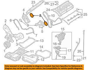 AUDI OEM 97-99 A8 Quattro Engine Parts-Timing Cover Gasket 077103487A | eBay | Audi V8 Quattro Engine Diagram |  | eBay