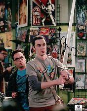 Jim Parsons & Johnny Galecki ++ Autogramm ++ The Big Bang Theory ++