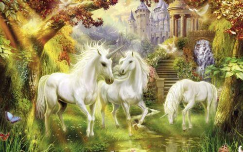 "Poster 24/"" x 36/"" Unicorn Paradise"