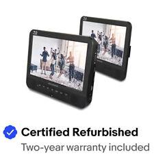 "Sylvania 10.1"" Dual Screen Portable Blu-ray DVD Player SDVD1087 Certified Refurb"