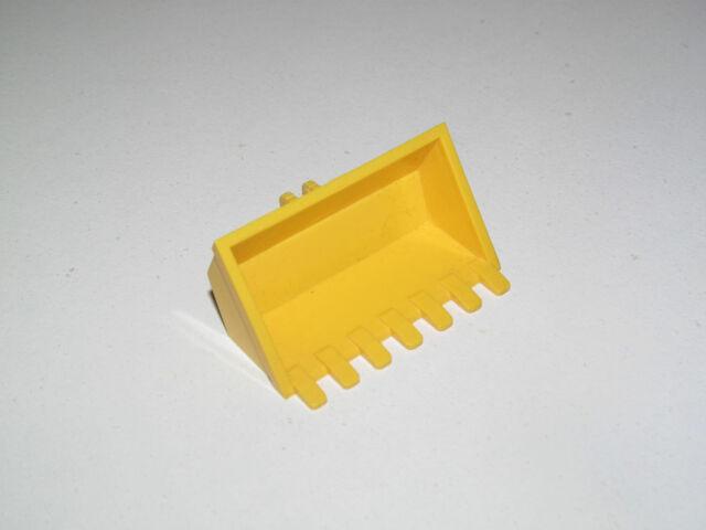 2951 LEGO Pelle Gros Godet Noir Pelleteuse 10x8 Grue Chantier Bucket Excavator