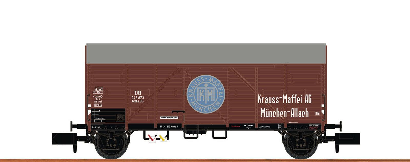 Brawa Spur N 67322 DB III ged. Güterwg. Gmhs 35 Krauss NEU OVP    Ausreichende Versorgung
