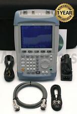 Rohde Amp Schwarz Fsh6 Ramps 626 Handheld Spectrum Analyzer W Tracking Gen Fsh 6ghz