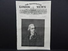 Illustrated London News Cover S7#02 May 1871 Father Of The Late Sir J. Herschel