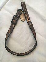 Team Realtree 1 X 24 Durable Camoflauge Dog Collar . Camo Pet Hunting