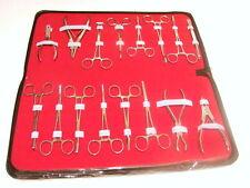 Ensemble Trousse Forceps x 16 Pièces Outils Piercing Corps Nombril Langue etc