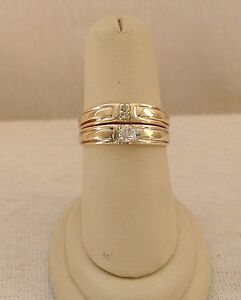 .20 CT Ladies Diamond Bridal Engagement Ring 14K Gold Wedding Set Anniversary