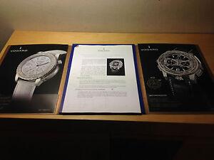 Kit Press Vogard Dossier Des Presse Uhr Chronozoner Uhren Gelernt Gebraucht Used Reich An Poetischer Und Bildlicher Pracht