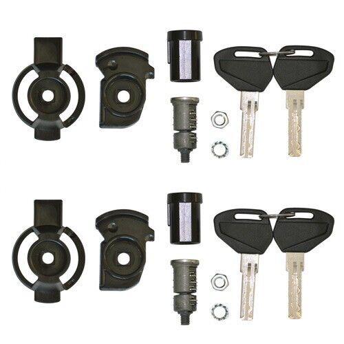 Kit COMPLETO Unificazione Chiavi Security Lock per 2 Valigie Laterali Kappa K33N