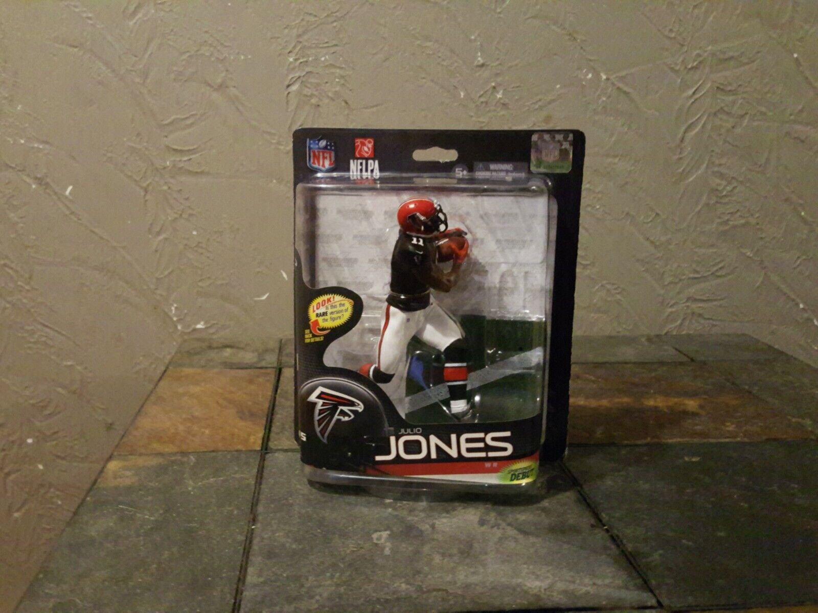 MCFARLANE JULIO JONES NFL  SERIES 33 COLLECTOR LEVEL Atlanta Falcons  pas cher et de haute qualité