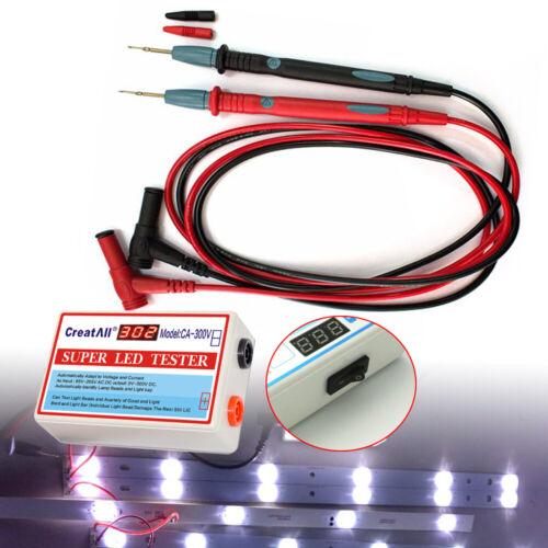 0-300V LED Tester for TV Backlight  LED Screen LED-Panels Streifenlichts COB DHL