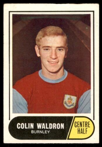 Burnley No A/&BC Football Green Back 1969 B3 84 Colin Waldron