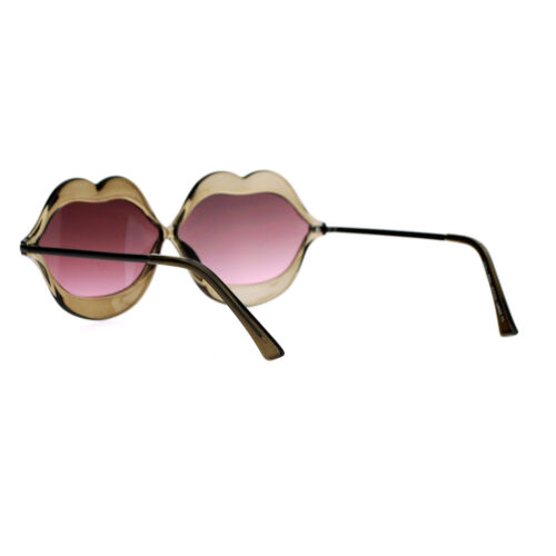 Cute Lip Shape Sunglasses Lips Kiss Womens Fashion Shades UV 400