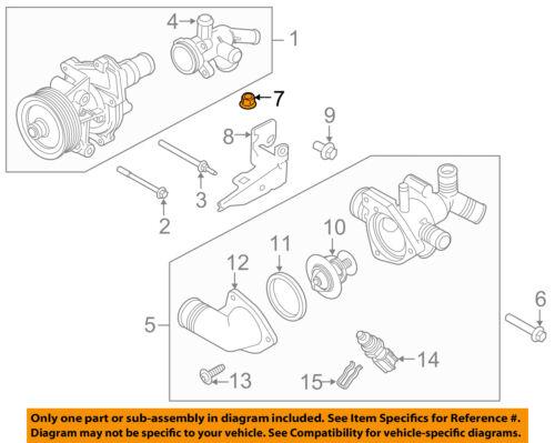Rear Door-Door Check Nut W520201S437 FORD OEM Lock