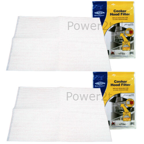 Details about  /2 x Miele Cooker Hood Extractor Vent Grease Filter Saturation Indicator NEW
