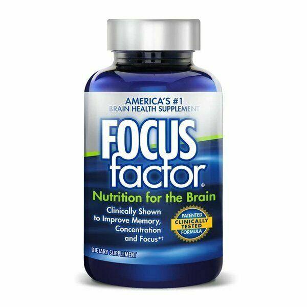 Focus Factor Nutrition For Brain Brain Health Supplement 90 Tablets EXP 01/23 - $14.99