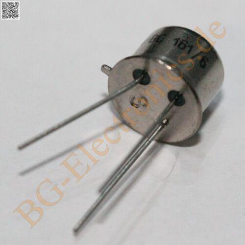 10 x BC161 6 Universal PNP Transistor 750mW 60V 1A  BC161-6 TFK TO-39 10pcs