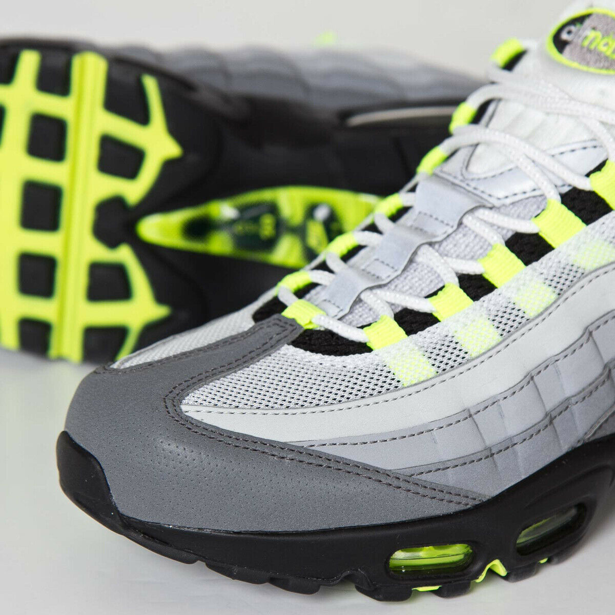Nike Air Max 95 OG Premium Reflective Neon 3M 10US 759986-070 Brand New In Box