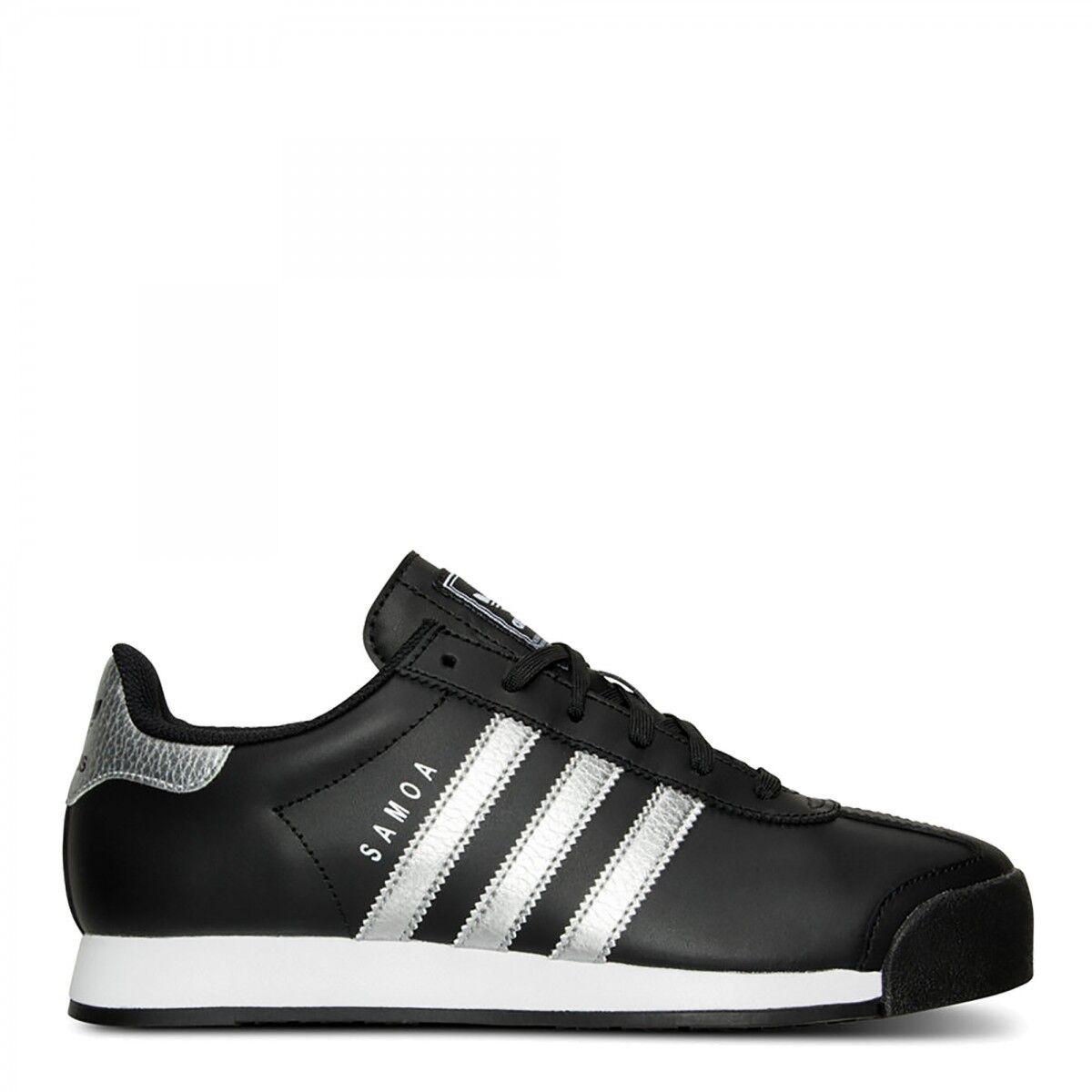 Adidas Originales Samoa redes Negro Plata Metallic Blanco zapatos Raiders redes Samoa Spurs 10 da3156