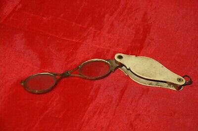 Anciennes Lunettes Lorgnons Pliables 1900