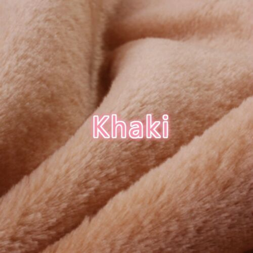 Thick Fluffy Fabric Faux Fur Clothes Upholstery Rug Display Background 100*165CM