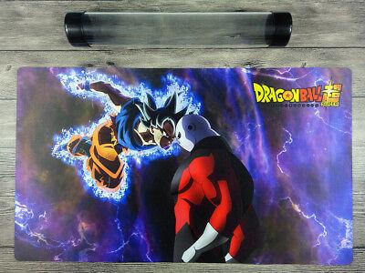 Dragon Ball Dragon Goku Custom Duel Playmat YuGiOh//MTG//VG TCG Mat Free Best Tube