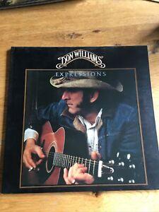 Don Williams -  Vinyl LP Album - Expressions