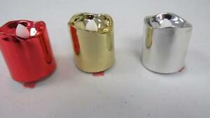 Christmas-Holiday-12-pc-Everlasting-Votive-Candles-Red-Gold-Silver-Metallic-NEW