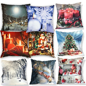 Velvet-Suede-Soft-Touch-Christmas-LED-Light-Up-Battery-Cushion-or-Cushion-Covers