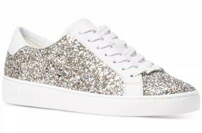 New Michael Kors Irving Lace Up Sneaker