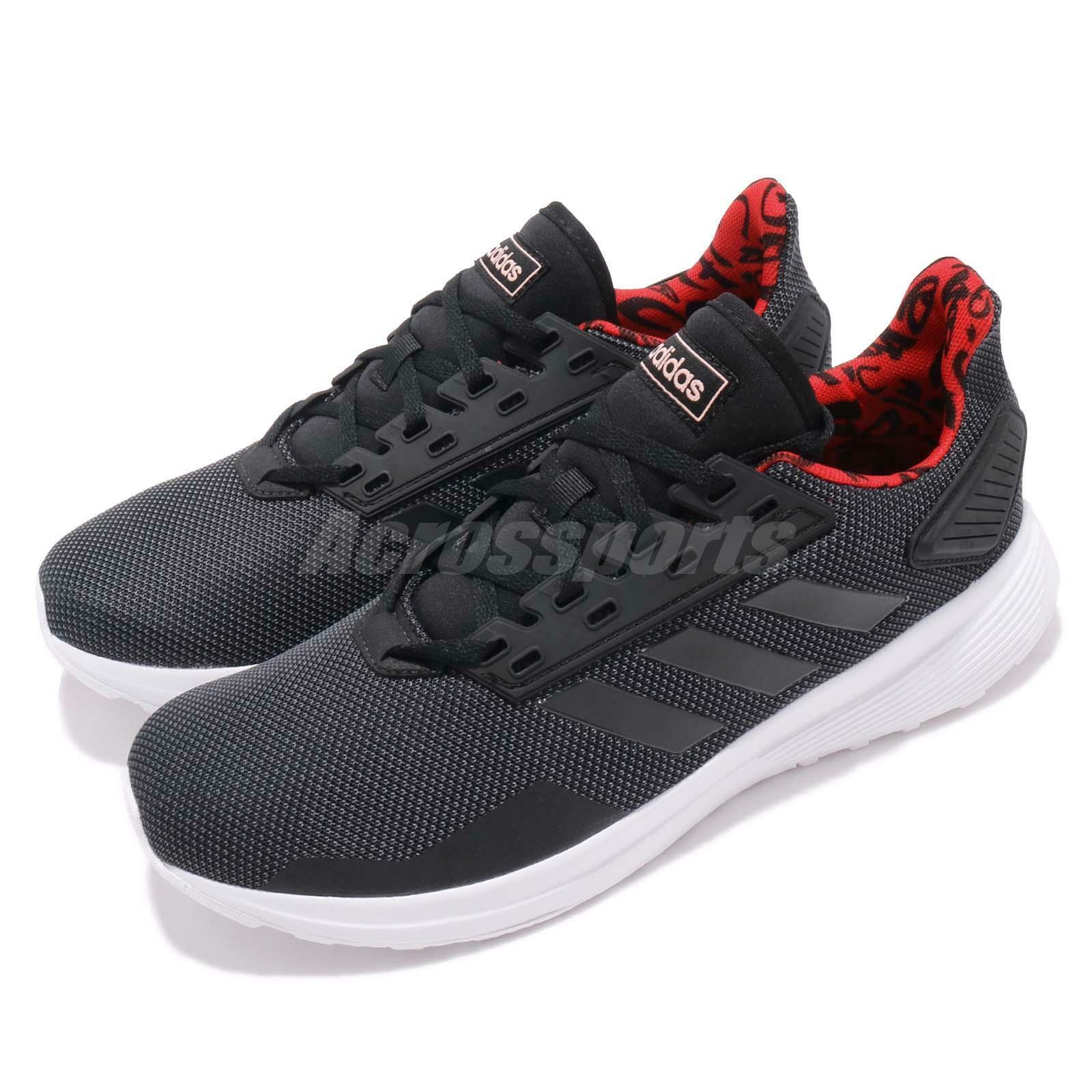 Adidas Duramo 9 negro gris rojo blanco Men Running Casual zapatos zapatillas F37006