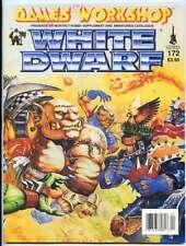 WHITE DWARF MAGAZINE #172 (GAMES WORKSHOP) WARHAMMER 40K! OOP IN MINT CONDITION!