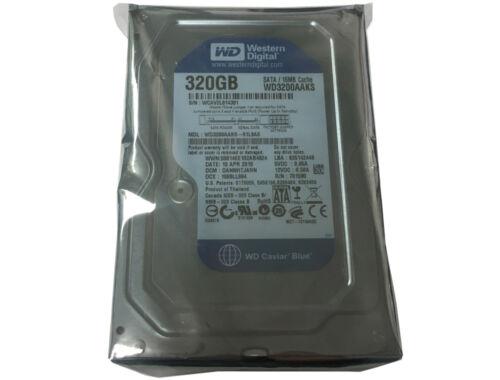 """WD Blue WD3200AAKS 320GB 16MB Cache 7200RPM SATA2 3.5/"""" Hard Drive CCTV DVR PC"""
