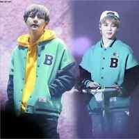 Kpop Bts Army.zip+ Unisex Baseball Jumper Uniform Coat Concert Jacket J-hope V